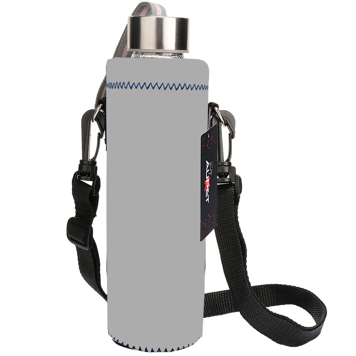 Aupet Water Bottle Carrier Insulated Neoprene Water Bottle